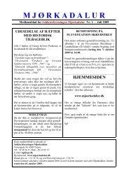 medlemsblad nr. 1 - juli 2009 - Soldaterforeningen Mjørkadalur