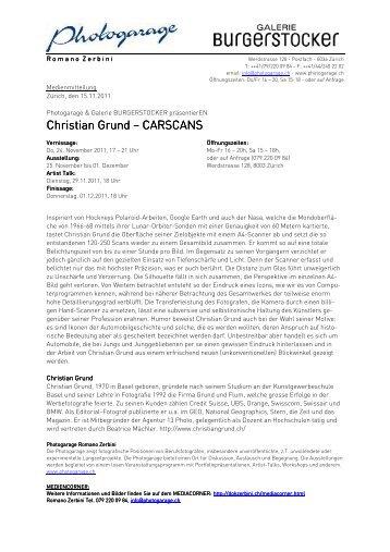 Christian Grund Christian Grund – CARSCANS ... - dok-Zerbini