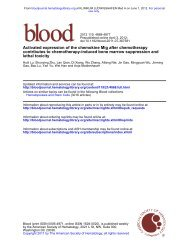 lethal toxicity contributes to chemotherapy-induced bone marrow ...
