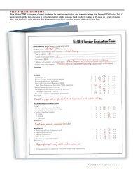 The Vendor-Evaluation Form - Exhibitor Magazine