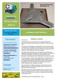 Newsletter Juni 2013 - Ipms-sg.ch