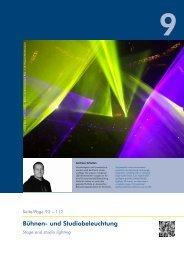 Bühnen- und Studiobeleuchtung