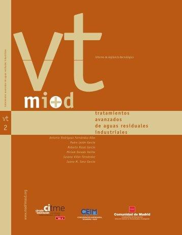 2. Tratamientos avanzados de aguas residuales industriales - Madri+d