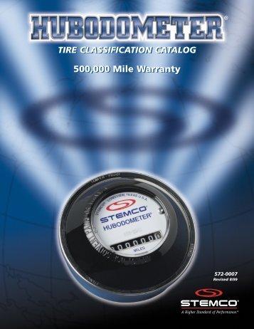 Stemco Hubodometer Tire Classicication Catalog - Eastern Marine