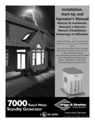 Installation, Start-Up and Operator's Manual - NoOutage.com, LLC