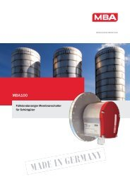 MBA 100 Membranschalter - SMB Group
