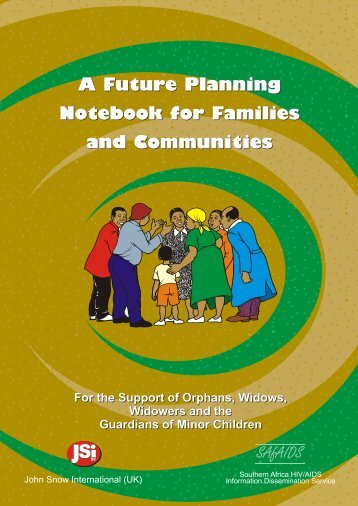 A Future Planning Notebook for Families and ... - SAfAIDS