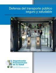 Defensa del transporte público seguro y saludable - BVSDE