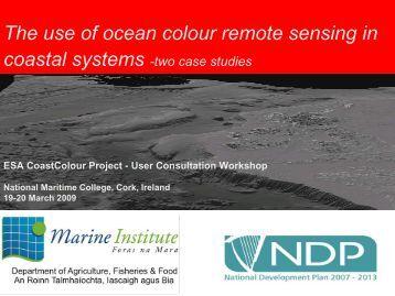 Ilaria Nardello (Marine Institute, Cork - Data User Element - ESA