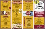 La Pizza - Dine Here US