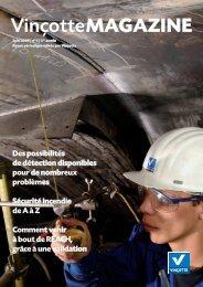 Vinçotte Magazine début d'année 2009