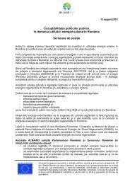 scrisoare de pozitie - Asociaţia ALMA-RO