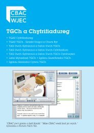 ICT and Computer Science leaflet - WJEC