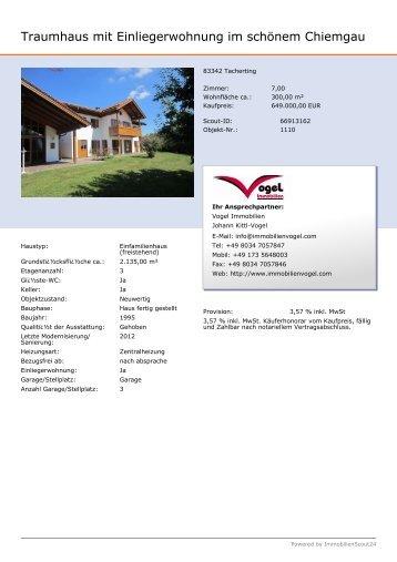 Traumhaus mit Einliegerwohnung im schönem ... - Immobilien.de