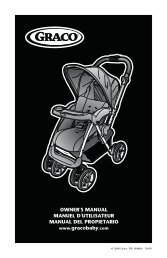 OWNER'S MANUAL MANUEL D'UTILISATEUR MANUAL ... - Graco