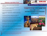agriculture contributes $44.2 billion to tennessee's economy annually