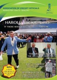 ECB ACO Newsletter - Spring 2012