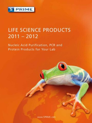 ram LIFE SCIENCE PRODUCTS 2011 – 2012 - Eppendorf