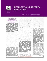 intellectual property rights (ipr) - Patent Facilitating Centre