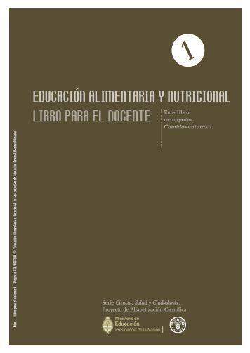 educación alimentaria y nutricional libro para el docente - FAO