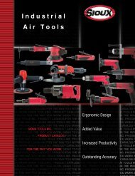 Industrial Air Tools - Sioux Tools