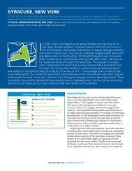 NRDC: Rooftops to Rivers II - Syracuse, New York ... - Save The Rain