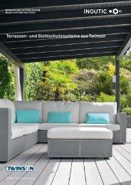 Info-Broschüre Terrasse & Garten - Inoutic