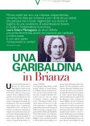 Monza ospitò per anni una milanese, indipendentista ... - Bellavite