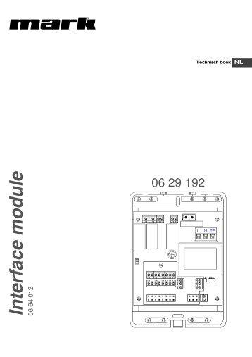 Technisch boek Interface module