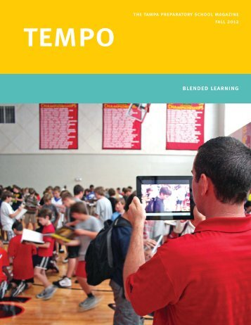 Fall 2012 TEMPO - Tampa Preparatory School