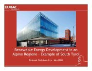 Renewable Energy Development in an Alpine Regione ... - Unido