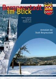 Bergneustadt im Blick - Stadt Bergneustadt