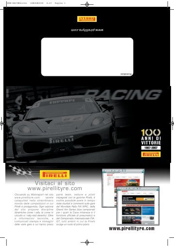 racing - pirelli