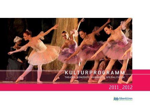 KULTURPROGRAMM 2011_2012 - Neues aus der Kultur