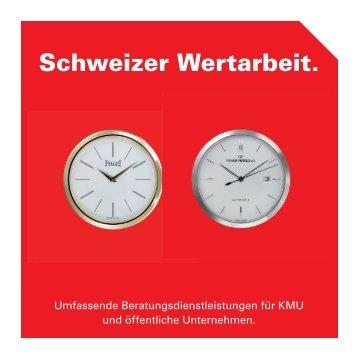 Schweizer Wertarbeit.