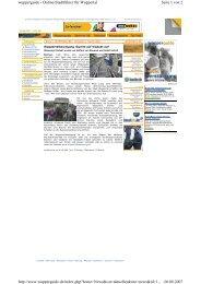 Seite 1 von 2 wupperguide - Online-Stadtführer für ... - Till Brühne Foto
