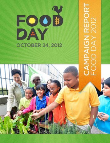 Food Day 2012 Report