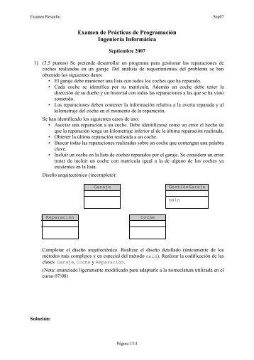Examen septiembre 2007 resuelto - CTR