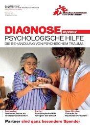 Psychologische Hilfe - Ärzte ohne Grenzen