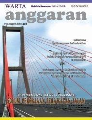 Majalah Warta Anggaran Edisi 24 - Direktorat Jenderal Anggaran ...