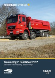 Trucknology® RoadShow 2012 - MAN Truck Forum