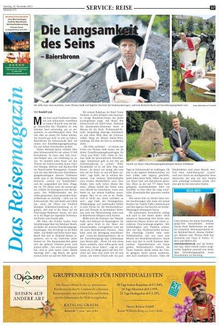 PDF: Das Reisemagazin 23. November 2013 - Marler Zeitung