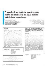 Protocolo de recogida de muestras para cultivo del ... - SciELO