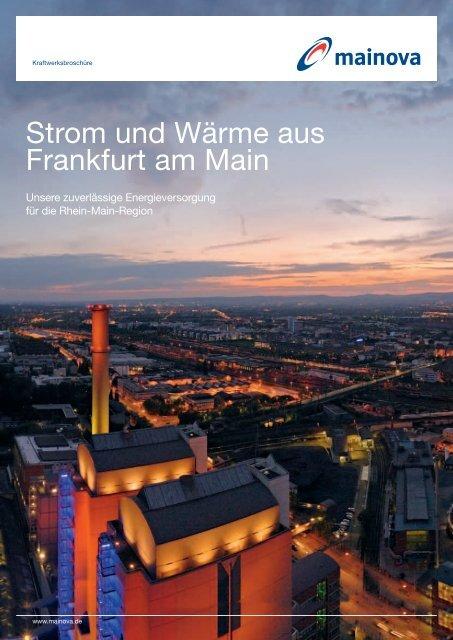 Strom und Wärme aus Frankfurt am Main - Mainova AG