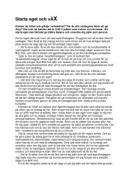 Publicerad i PS! – populär psykologi och medicin 2006. - neij.se