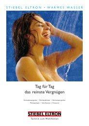 Stiebel Eltron Warmes Wasser 2,85 MB - Magnus Denzinger GmbH