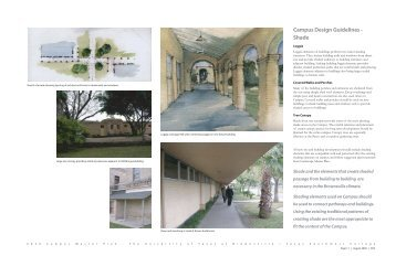Campus Design Guidelines - The University of Texas at Brownsville