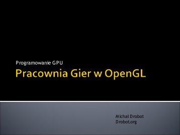 Zaawansowane programowanie GPU.pdf - Drobot.org