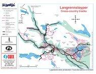 Langrennsløyper Cross-country tracks - Ski Snowboard Europe