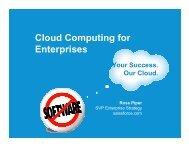 Cloud Computing for Enterprises - AIM Institute